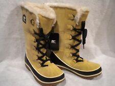 NEW Womens SOREL Tivoli High II Curry Tan Suede Leather Winter Snow Boot 9 M