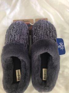 Dearfoams Women's Slippers Memory Foam purple SizesXL  11-12