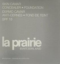 La Prairie Skin Caviar Concealer Foundation  SPF 15 PORCELAINE BLUSH NC-10 BNIB