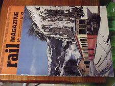 Revue Rail Magazine n°21 Wagons E.V.S Autorail X2100 BdR BB15000