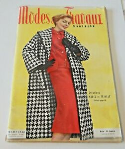 Magazine Modes & Travaux Mars 1958