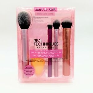 REAL TECHNIQUES Everyday Essentials Brush Set NEW Damaged Box #3533