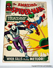 Amazing Spiderman 36 Marvel Comic Book 1966 1st Looter! VF+