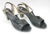 CAMPER women shoes sz 9.5 Europe 41  black  leather S7561