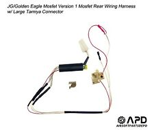 JG Golden Eagle Mosfet Wiring Rear  Harness Large  Airsoft AEG  Version 1