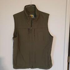 Cabelas Army Green Lightweight Vest MINT L