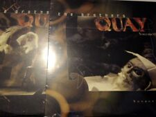 THE BROTHERS QUAY VOLUME ONE & TWO LASERDISC VOYAGER  SEALED MINT RARE