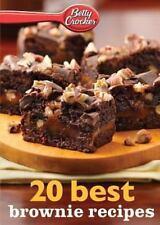 Betty Crocker 20 Best Brownie Recipes by Betty Crocker (2013, Paperback)