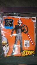 Disney Star Wars Inquisitor Costume Cosplay Dress Up size Large 12-14