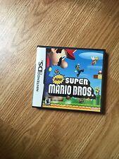 New Super Mario Bros.Nintendo DS NDS With Manual Nice Cib NG2