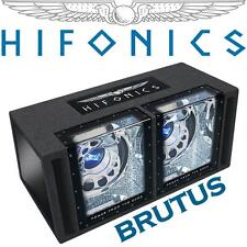 Hifonics Bass SCATOLA PASSAPORTO a nastro con 2x300mm Subwoofer Woofer Bass UVP/449 €