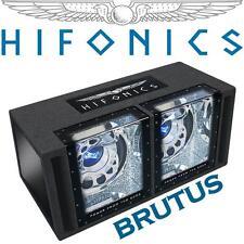 Hifonics Brutus Basskiste Bassbox mit 2x30cm Subwoofer Woofer Bass