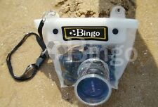 DSLR SLR camera waterproof underwater case pouch housing bag for Nikon Canon ...