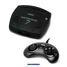 ## SEGA Mega Drive Genesis 3 Konsole mit 6 Button Pad (US-Import) - TOP  ##