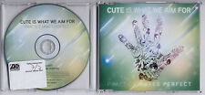 CUTE IS WHAT WE AIM FOR Practice Makes Perfect UK promo CD PRO16610