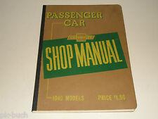 Reparaturanleitung Werkstatthandbuch Shop Manual Chevrolet 1949 Special Deluxe