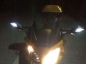 Honda CBF1000 SC58 SPIEGEL Force INTEGRIERTES LED TAGFAHRLICHT NEW NEU OVP m.TÜV