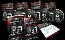 Google+ For Business: 145 Slide Powerpoint Presentation Course & Bonuses on CD
