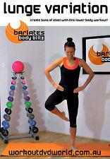 Barre Ballet Style Toning EXERCISE DVD - Barlates Body Blitz LUNGE VARIATIONS!