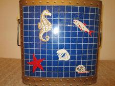 Vintage Nautical Maritime Beverage Cooler