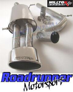 Milltek Seat Ibiza 1.9 TDI Cupra Cat Back Exhaust System Non Res Oval SSXSE122