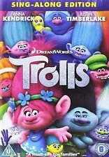 "Trolls Movie DVD - Brand New & Sealed ""FREE DELIVERY"""