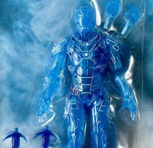 HOLOGRAM Iron Man Tony Stark Marvel Legends - no Ursa Major BAF - SHIPS FAST!