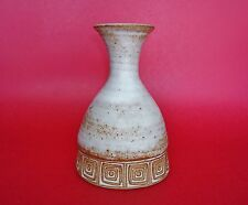 VINTAGE Los Artesanos Puerto Rico Art Pottery Bottle Vase - BEAUTIFULLY GLAZED