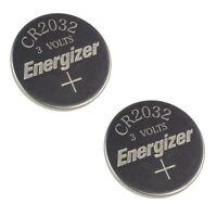 2 Piece Fresh ENERGIZER CR2032 WATCH BATTERIES 3V LITHIUM CR 2032 DL2032 BR2032