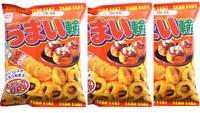 Riska UMAIWA Takoyaki taste Snack 75g ×3pcs Japan
