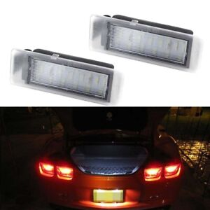 2010-2013 For Chevy Camaro SUPER BRIGHT White LED License Plate Light Tag Lamp