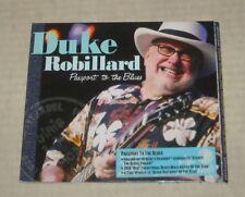 2010 DUKE ROBILLARD - PASSPORT to the BLUES CD RHODE ISLAND RI LEGEND w BONUS