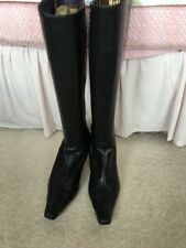 Bertie Leather Boots Size 8 Pre Loved