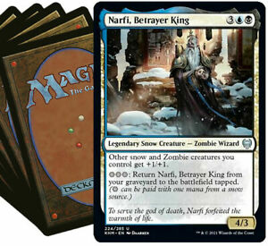 NARFI Commander Deck   100 Magic the Gathering Card Blue Black Collection Lot