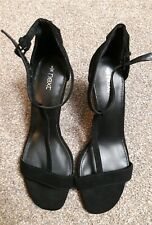 NEXT ladies suede open wedged shoes size 5 *new*