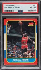 PSA 4 1986-87 Fleer #57 Michael Jordan RC Chicago Bulls Jordan RC PSA Graded