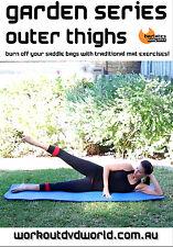 Pilates Barre THIGHS MAT DVD - Barlates Body Blitz GARDEN OUTER THIGHS!