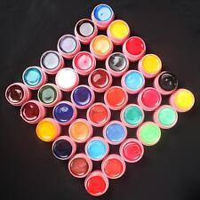 36 piezas mix colores perla UV Gel de construcción SET PARA