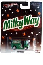 2014 Hot Wheels Mars Candy Milky Way Bread Box