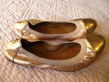 beautiful rose gold Coach ballet flats for summer! size 5 - beautiful!