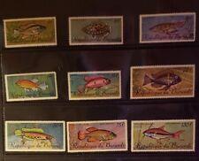 Burundi Stamps - #C46-C54 - Tropical Fish - MNH XF 1967