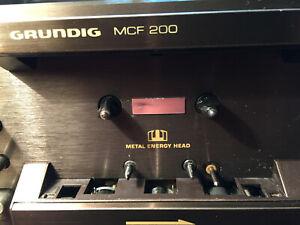 Grundig MCF-200 Cassettendeck Midi HighCom ! revidiert