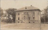Minnesota Mn Photo RPPC Postcard 1922 FERGUS FALLS Nurses Home WRIGHT HOSPITAL