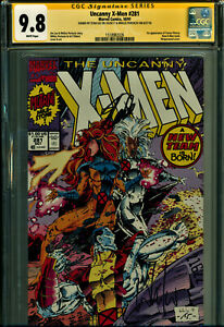 UNCANNY X-MEN #281 SS CGC 9.8 2S SIGNED BY STAN LEE/WHILCE PORTACIO-NEWSSTAND!!