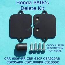 Honda CBR600F RR 650F 929RR 954RR 1000RR /R PAIR's Delete Kit SMOG Block Plates