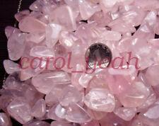 100g Natural Pink Powder Crushed Stone Transparent Irregular Shape Broken Stone