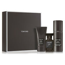 TOM FORD PRIVATE BLEND OUD WOOD GIFT SET 1.7oz EDP Spray+2.5 Gel+4oz Body Spray