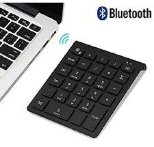 Bluetooth Number Pad, Lekvey Portable Wireless Bluetooth 28-Key Numeric Keypa...