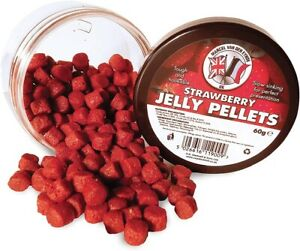 Marcel Van Den Eynde jelly pellets Carp Fishing 1xkrill 1xfishmeal 1xstrawberry