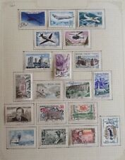 A Comprehensive Collection of Stamps of France - Used - 1960 to 1972